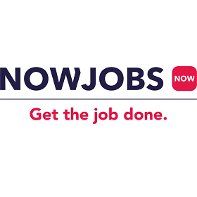 NOWJOBS logo get the job done