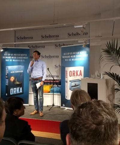 Boekpresentatie Orka Marineschepen.nl Jaime Karreman