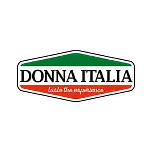 Donna Italia logo opdrachtgever De Bruijn PR