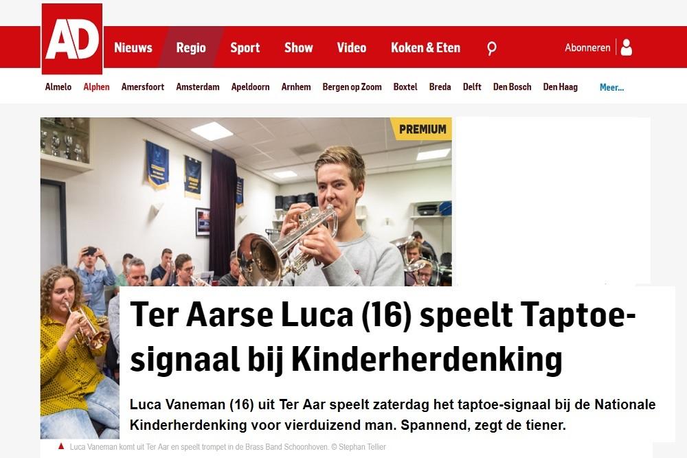 Algemeen dagblad Luca