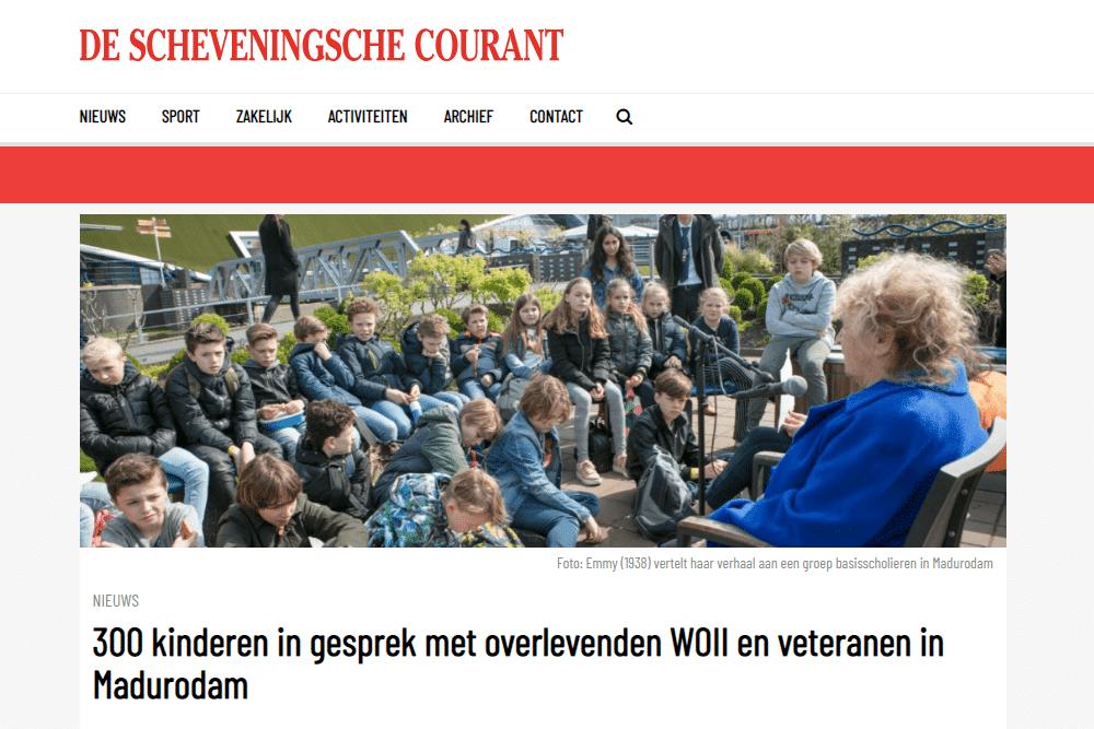 Verhalendag De Scheveningsche Courant
