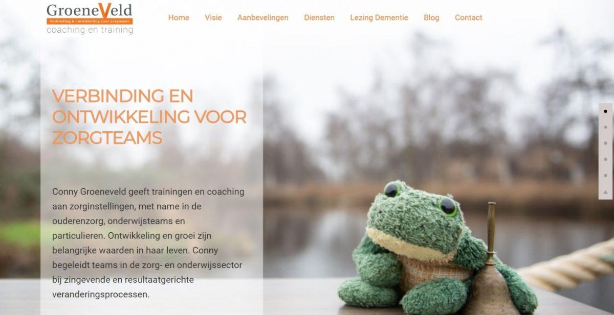 Website Groeneveld Coaching en Training