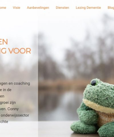 Website Groeneveld Coaching en Training