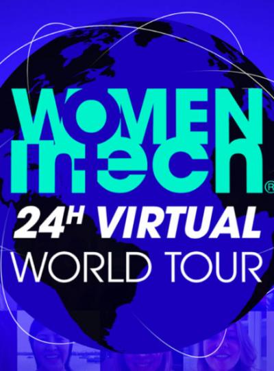 PR lancering: 24 hour virtual conference voor Women in Tech