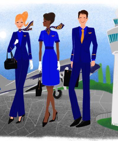 Michael Barnaart ontwerpt kleding voor Madurodam's The Flying Dutchman