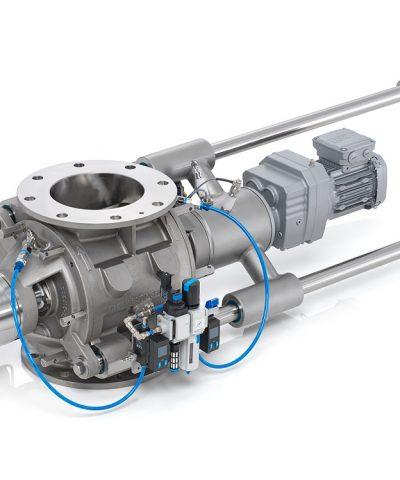 DMN-WESTINGHOUSE zet de nieuwe standaard met MZC-II sluis voor dry bulk industrie
